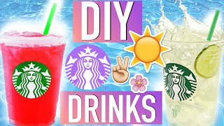 Diy Summer Starbucks Drinks! #tumblrmysummer