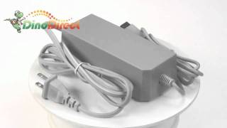 100~240V AC Power Adapter with US Plug for Nintendo Wii  from Dinodirect.com