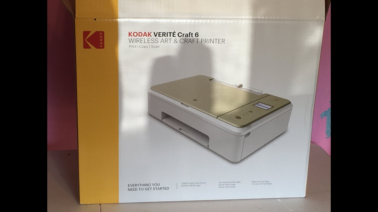 kodak verite craft 6 printer youtube