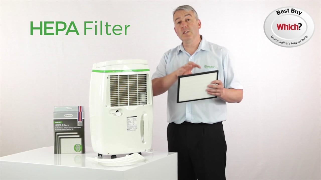 cd531ca5 Strømbesparende avfukter med HEPA-filter. Meaco 20L Platinum - YouTube