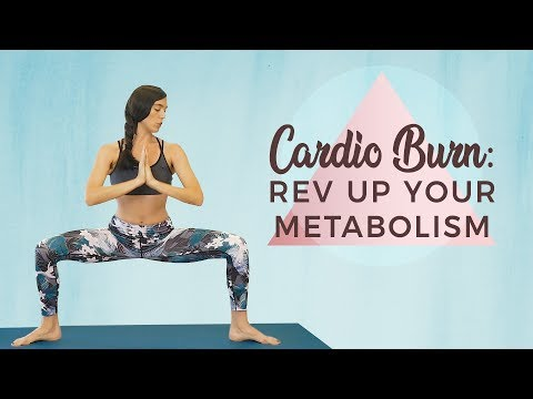 Total Body Cardio Burn ♥ Yoga for Weight Loss & Metabolism, 30 Minute Workout, Power Class At Home