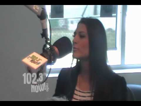 102.3 Now radio Interview with Kristina Maria