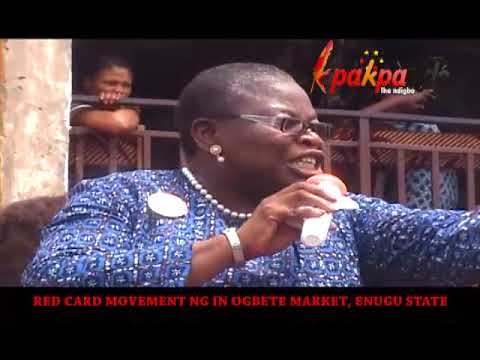 NIGERIA POLITICS: OBY EZEKWESILI GIVES APC AND PDP RED CARD
