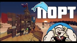 [Minecraft McParadise]: Строим порт для ClanWar