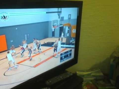 NBA 2k17: Game 2: Scott Lee   near double double