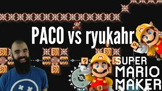 Insane ryukahr levels!! | PACO vs ryukahr | Mario Maker Super Expert Levels