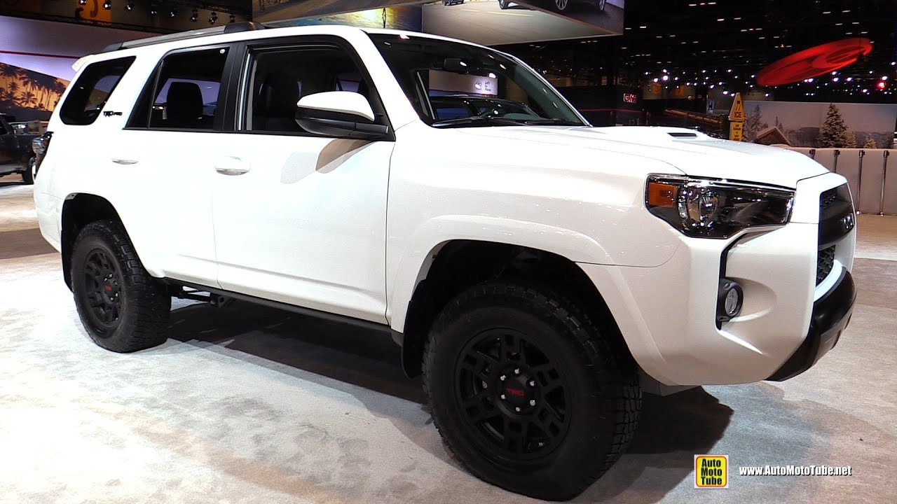 2016 Toyota 4runner Trd Pro Exterior And Interior Walkaround Chicago Auto Show
