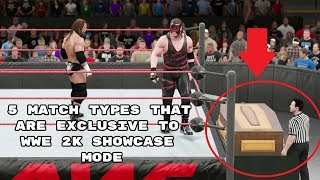 5 Amazing Match Types That Are Exclusive To WWE 2K Showcase Mode