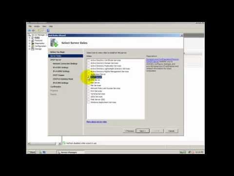 Basic DHCP Server configuration