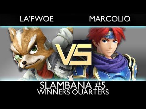 [Slambana #5] Winners Quarters: La'Fwoe (Fox) vs. Marcolio (Roy)