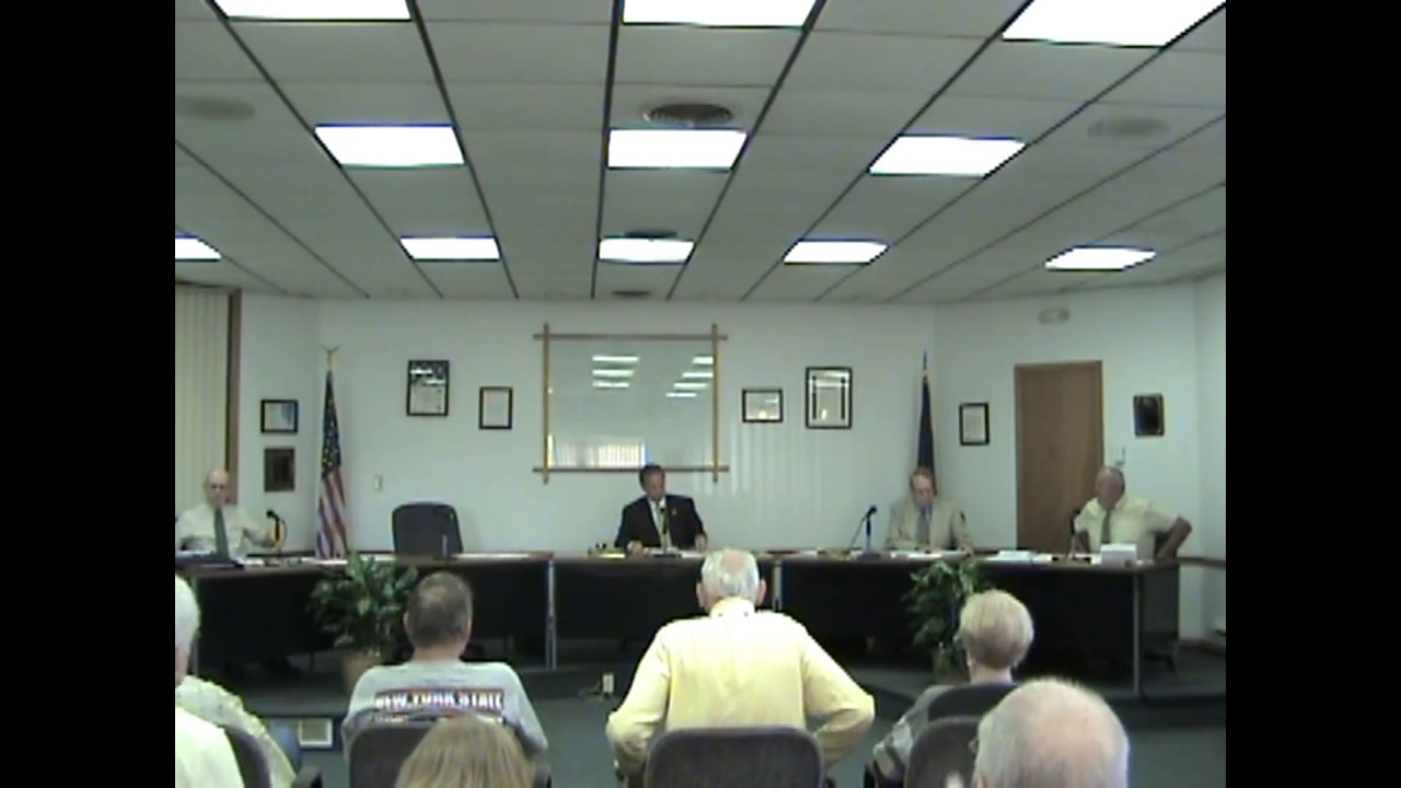 Rouses Point Village Board Meeting  7-5-17