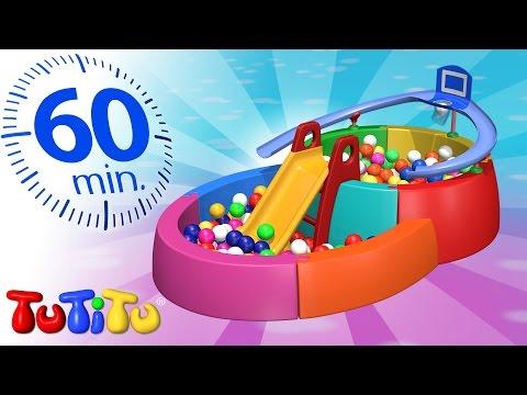 TuTiTu po polsku   Basenik z piłeczkami I inne zaskakujące zabawki   1 godzina