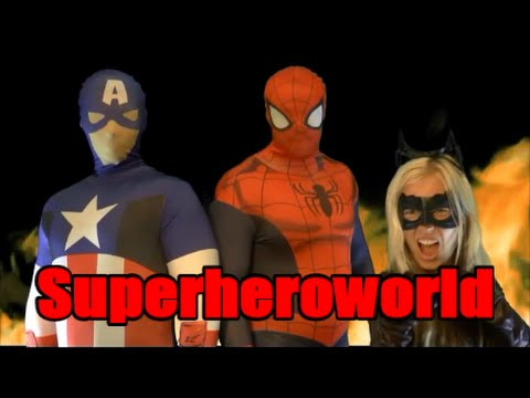 Spiderman & Frozen Elsa vs Joker! w/ Pink Spidergirl Anna & Batman! Superhero Fun in Real Life :)