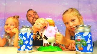 💩 ОСТОРОЖНО ! Молоко Челлендж ? Молоко или Какашка 💩 - Лепешка ??? СУПЕР ГИГАНТСКИЙ ПРИЗ 🎁 !