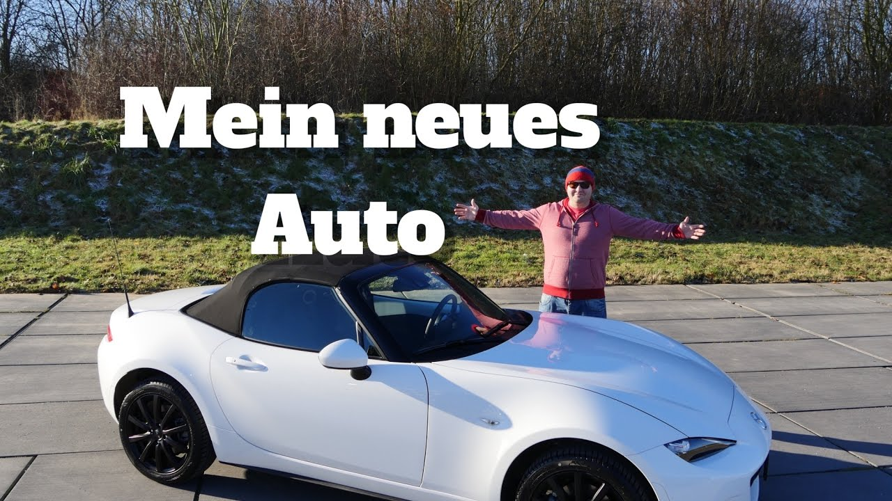 mein neues auto mazda mx 5 nd sports line youtube. Black Bedroom Furniture Sets. Home Design Ideas