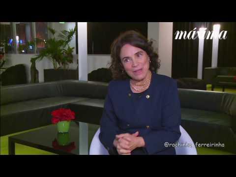 Regina Duarte em Portugal (2016) Máxima