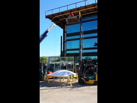 Maxim Skylights Fall Protection Test - Extreme Impact