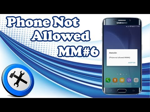 Error Phone Not Allowed MM # 6 | Temporary Solution Guide
