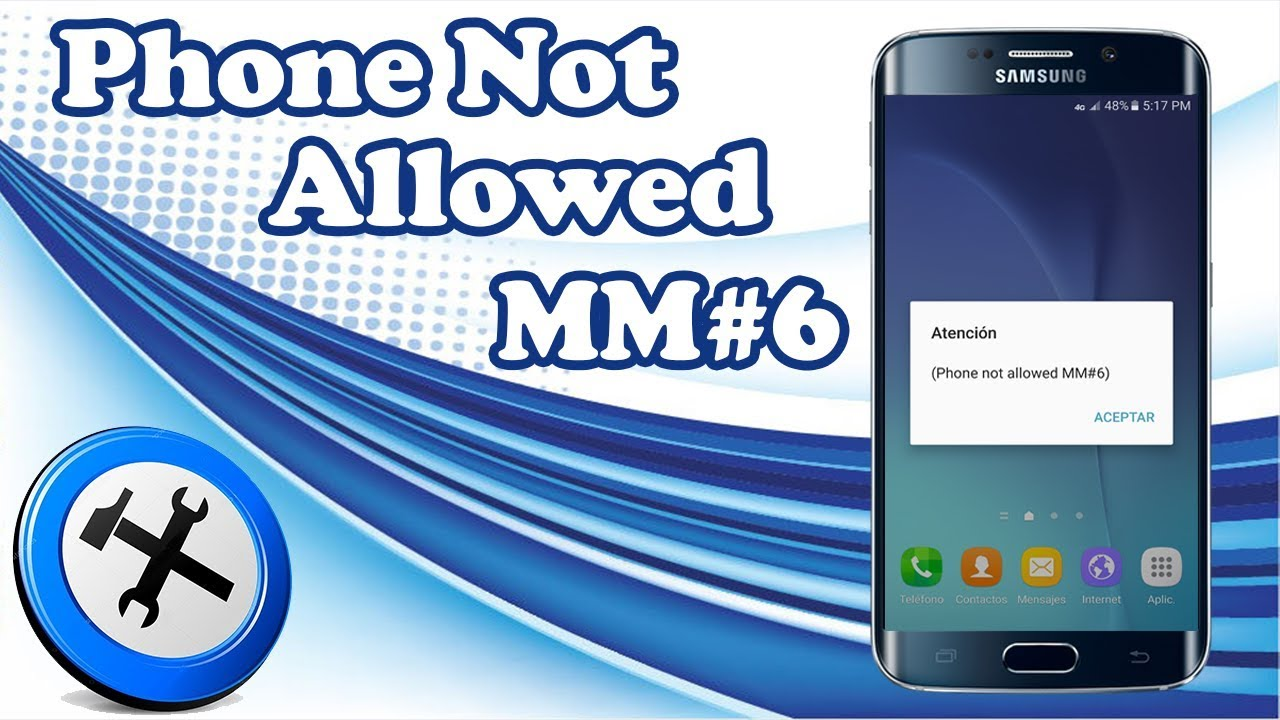 phone not allowed mm 6