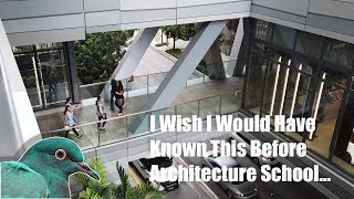 5 Things I Wish I Would Have Known Before Studying Architecture