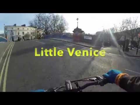 Biking Through the Grand Union Canal in London