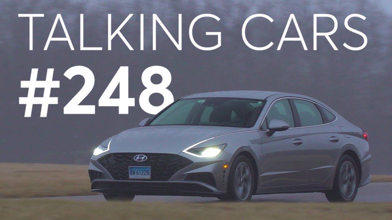 Resultados de la prueba de Hyundai Sonata 2020; Mantenerse a salvo en la bomba | Hablando de autos con Consumer Reports # 248 + vídeo