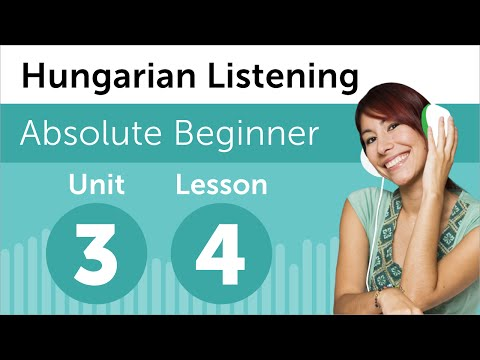 Hungarian Listening Practice - Talking About Vacation Plans in Hungarian
