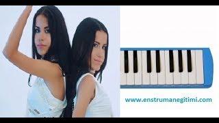 Melodika Eğitimi - İkizler - Öptüm Aniden Melodika