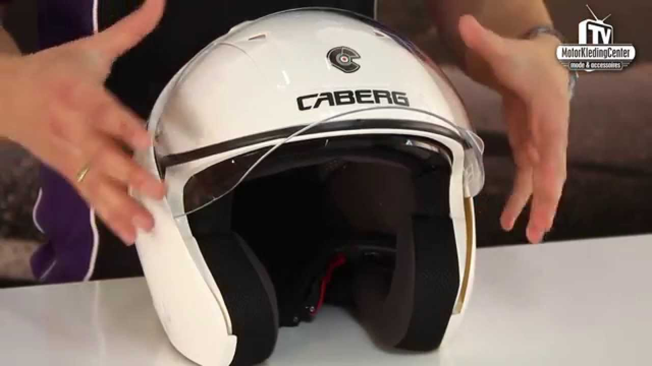 Caberg Downtown Motorhelm Review - MotorKledingCenterTV - YouTube