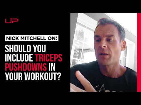 Triceps Pushdowns - A Waste Of Your Time?