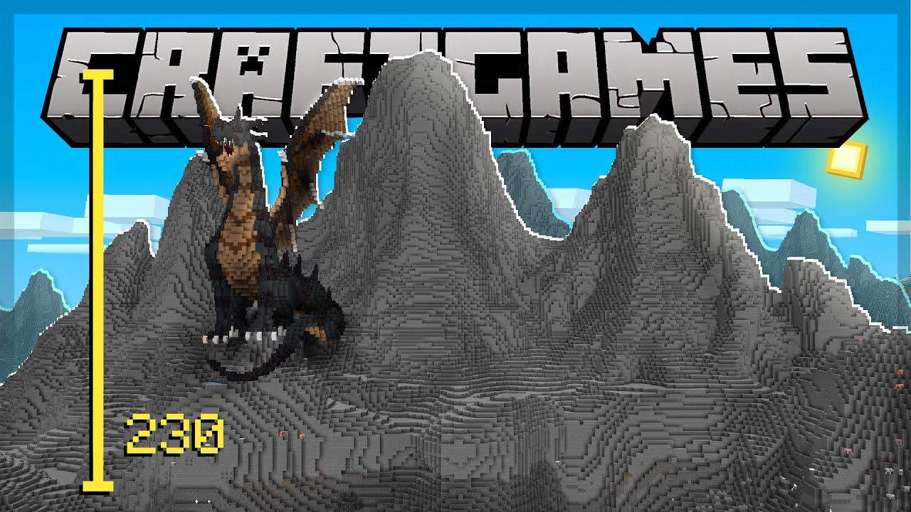 Construindo a MAIOR MONTANHA do Minecraft - Craft Games 253