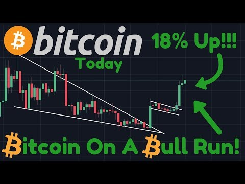 Bitcoin FLYING 18% Up!! Beginning Of THE BULL RUN Or Not? | Signs Of A Small Correction Ahead!