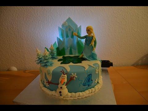Elsa Und Olaf Torte Frosen Von Purzel Cake Youtube