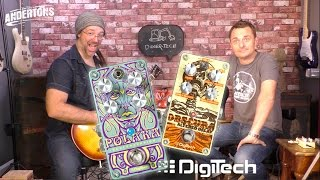 Digitech Polara & Obscura Pedals - Awesome Reverb & Delay Pedals