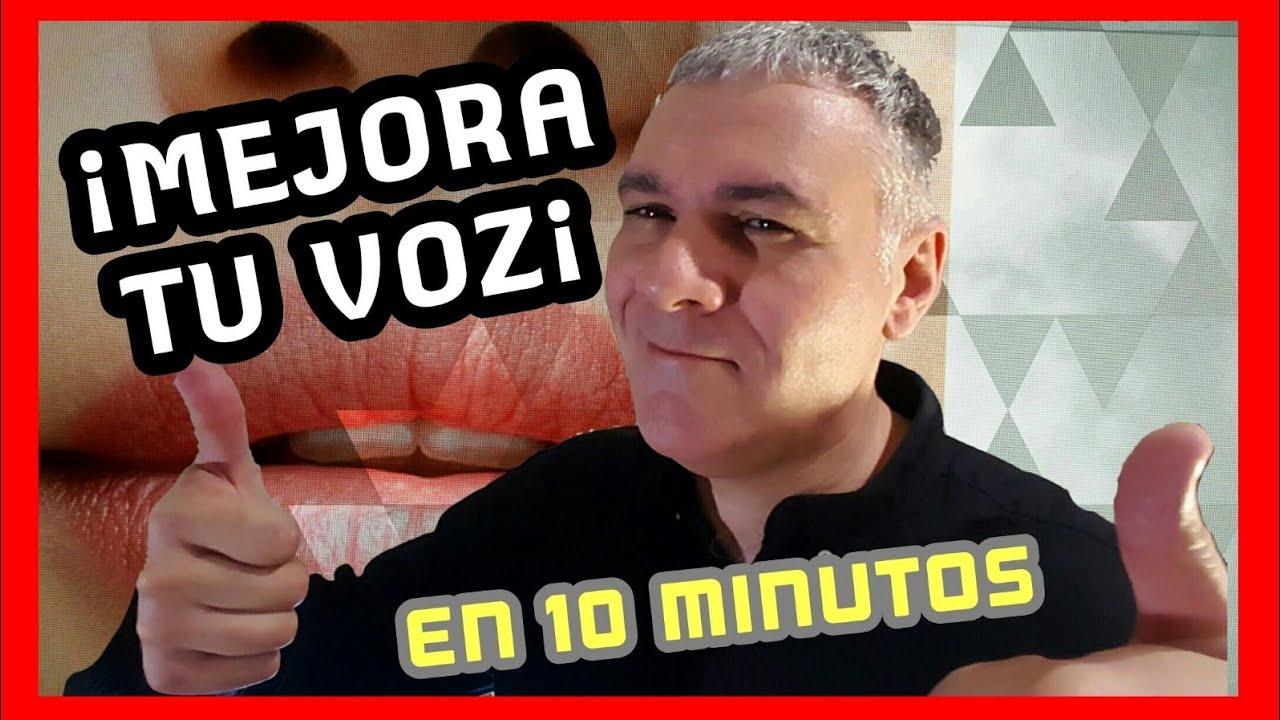 Cómo Mejorar La Voz En 10 Minutos Tutorial Y Ejercicios De Vocalización Y Uso De La Voz Youtube