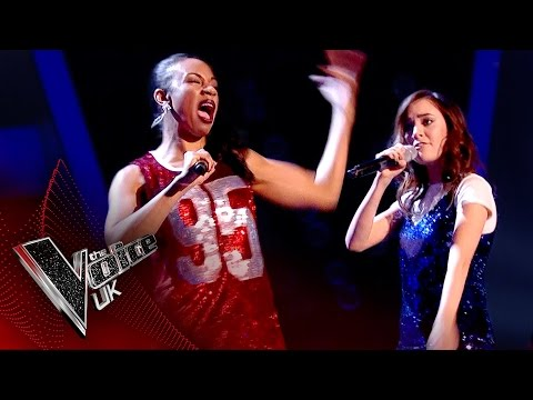 Shakira Lueshing vs. Clara Hurtado - 'Bad Blood': The Battles | The Voice UK 2017