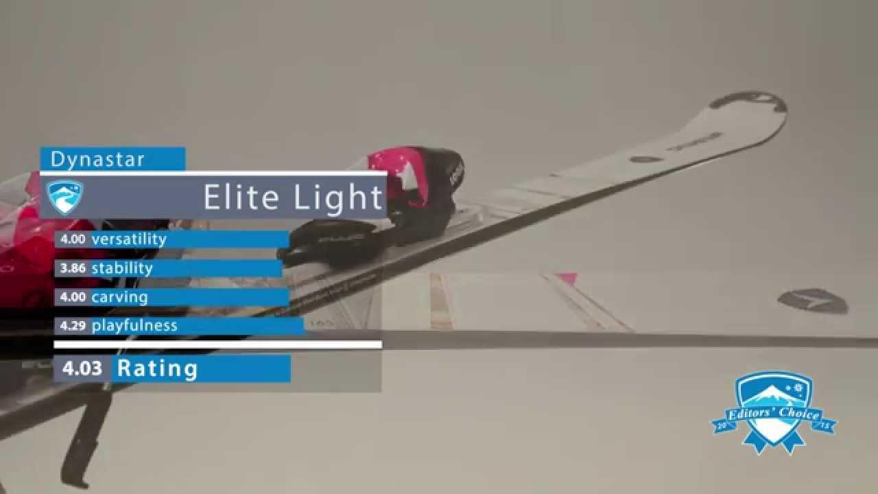 2015 Dynastar Elite Light - Ski Review