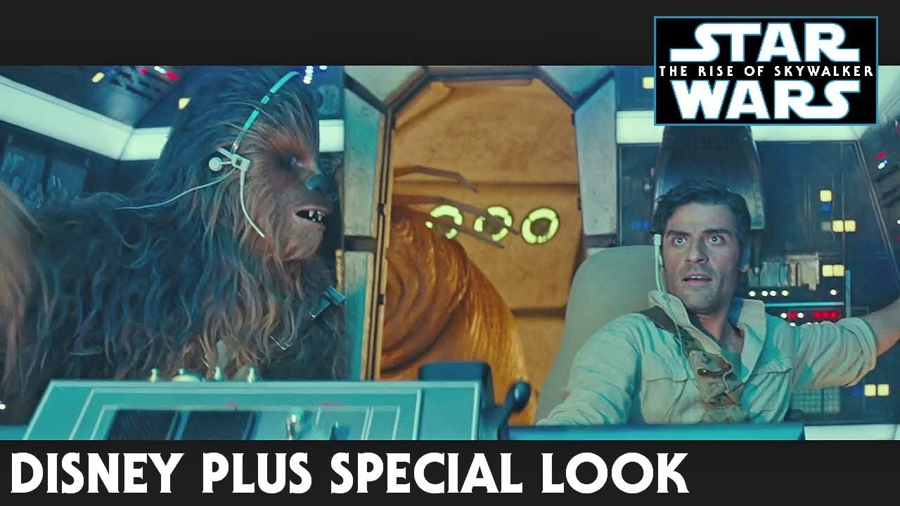 Star Wars The Rise Of Skywalker Disney Plus Special Look Trailer Youtube