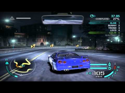 Need For Speed: Carbon - Defensive Race #12 - Mason Street (Sprint)