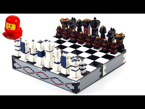 Lego 40174 Iconic Chess Set Lego Speed Build