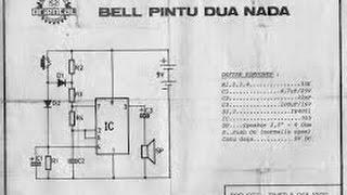 TUTORIAL MERAKIT PCB BEL PINTU DUA NADA