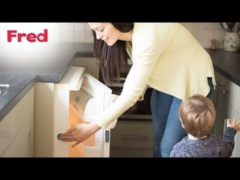 Watch the Fred Adhesive Fridge/Freezer Latch you-can-do-it video here