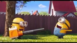 Миньоны против газона трейлер 2016 мультфильм