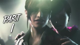 Resident Evil Revelations 2 Walkthrough Gameplay Part 1 - Claire Redfield - Campaign Episode 1 (PS4)