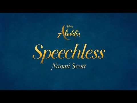 """Naomi Scott - Speechless (Full) (From """"Aladdin"""")(Lyrics)"""