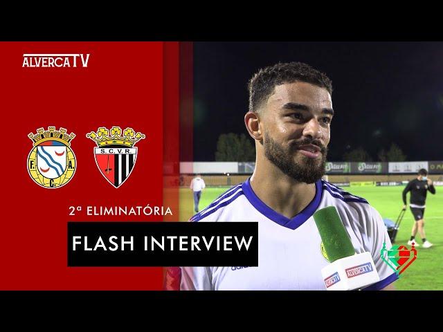 FC Alverca 3 - 1 SC Vila Real   Flash Interview
