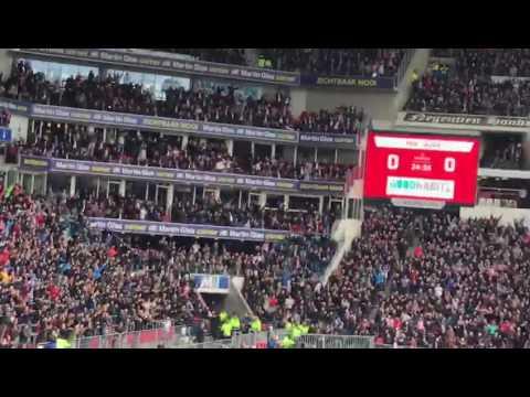 PSV Eindhoven - Ajax Amsterdam / 1-0 Sjaak swart na de goal