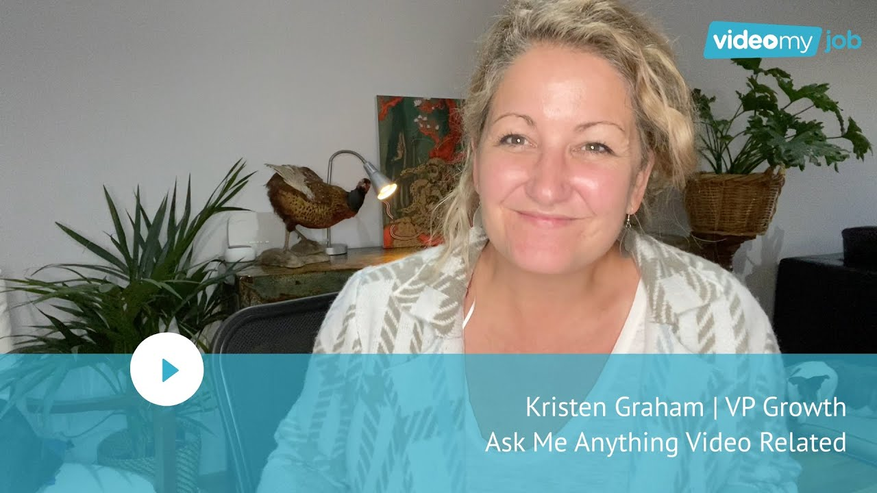 Kristen Graham | VP Growth | Ask Me Anything Video Related