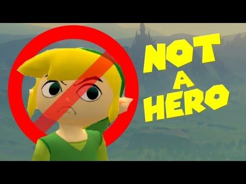 Link is NOT A HERO!