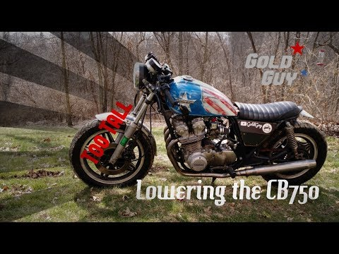 Return of the Cafe Racer: Fixing the Front End
